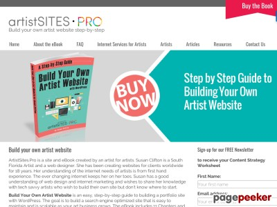 Build your own artist website a step by step guide for Build your own home website